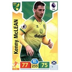 Kenny McLean Norwich City 246 Adrenalyn XL Premier League 2019-20