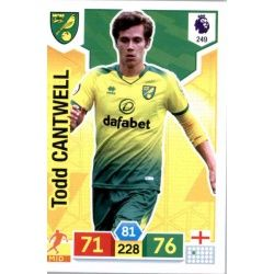 Todd Cantwell Norwich City 249 Adrenalyn XL Premier League 2019-20