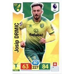 Josip Drmić Norwich City 251 Adrenalyn XL Premier League 2019-20