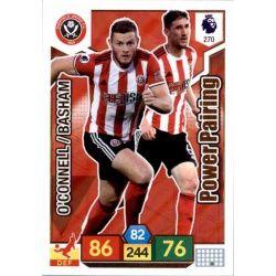 Chris Basham - Jack O'Connell Sheffield United 270 Adrenalyn XL Premier League 2019-20