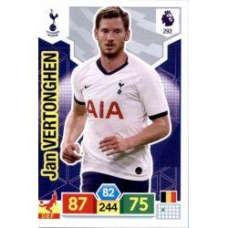 Jan Vertonghen Tottenham Hotspur 292 Adrenalyn XL Premier League 2019-20