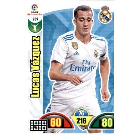 Lucas Vázquez Real Madrid 269 Cards Básicas 2017-18