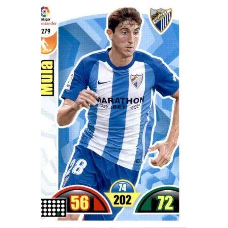 Mula Málaga 279 Cards Básicas 2017-18