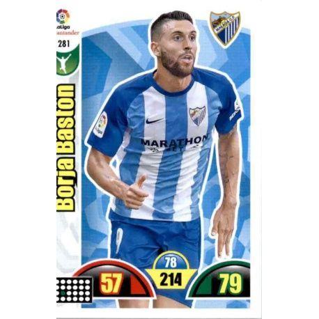 Borja Bastón Málaga 281 Cards Básicas 2017-18