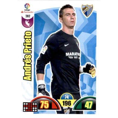 Andrés Prieto Málaga 282 Cards Básicas 2017-18