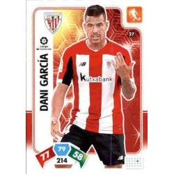 Dani García Athletic Club 27 Adrenalyn XL Liga Santader 2019-20
