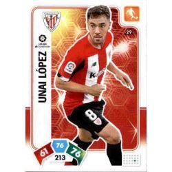 Unai López Athletic Club 29 Adrenalyn XL Liga Santader 2019-20