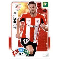 Aritz Aduriz Athletic Club 34 Adrenalyn XL Liga Santader 2019-20