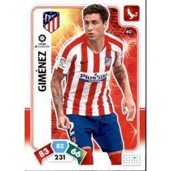José Giménez Atlético de Madrid 40