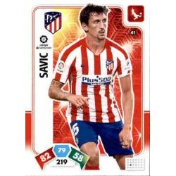 Stefan Savić Atlético de Madrid 41