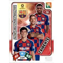 Tridente Barcelona 72 Adrenalyn XL Liga Santader 2019-20