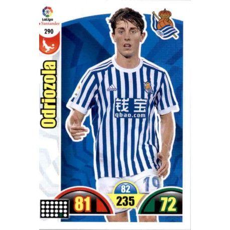 Odriozola Real Sociedad 290 Cards Básicas 2017-18