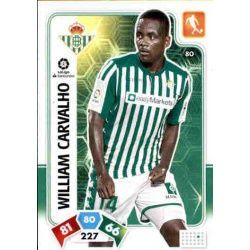 William Carvalho Real Betis 80 Adrenalyn XL Liga Santader 2019-20