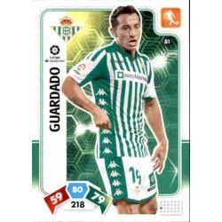 Andrés Guardado Real Betis 81 Adrenalyn XL Liga Santader 2019-20