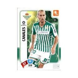 Sergio Canales Real Betis 82 Adrenalyn XL Liga Santader 2019-20