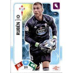 Rubén Blanco Celta 91 Adrenalyn XL Liga Santader 2019-20