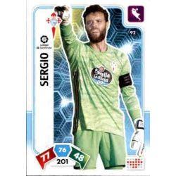 Sergio Celta 92 Adrenalyn XL Liga Santader 2019-20