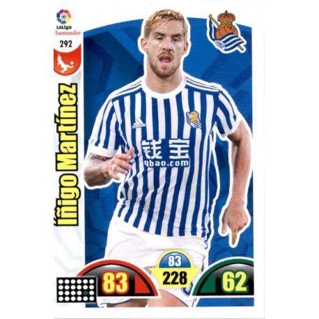 Íñigo Martínez Real Sociedad 292 Cards Básicas 2017-18