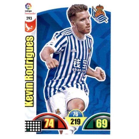 Kevin Rodrigues Real Sociedad 293 Cards Básicas 2017-18