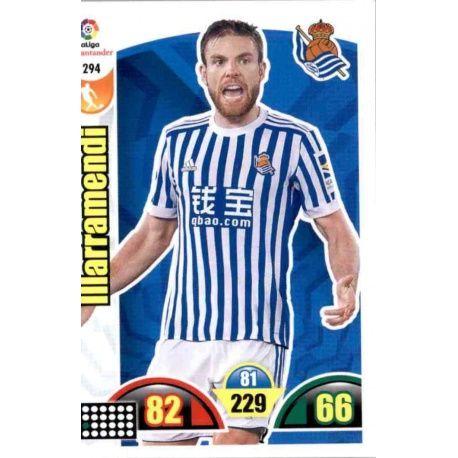 IIlarramendi Real Sociedad 294 Cards Básicas 2017-18