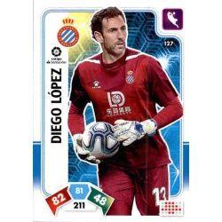 Diego López Espanyol 127 Adrenalyn XL Liga Santader 2019-20