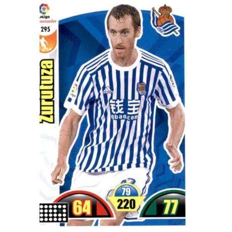 Zurutuza Real Sociedad 295 Cards Básicas 2017-18