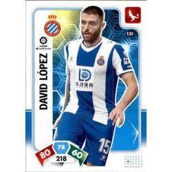 David López Espanyol 131 Adrenalyn XL Liga Santader 2019-20