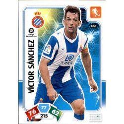 Víctor Sánchez Espanyol 136 Adrenalyn XL Liga Santader 2019-20