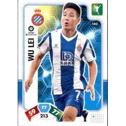 Wu Lei Espanyol 140 Adrenalyn XL Liga Santader 2019-20