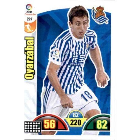 Oyarzábal Real Sociedad 297 Cards Básicas 2017-18