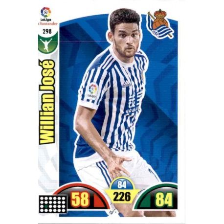Willian José Real Sociedad 298 Cards Básicas 2017-18