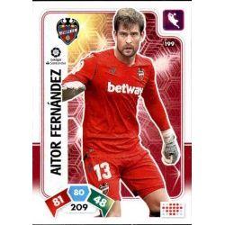 Aitor Fernández Levante 199 Adrenalyn XL Liga Santader 2019-20