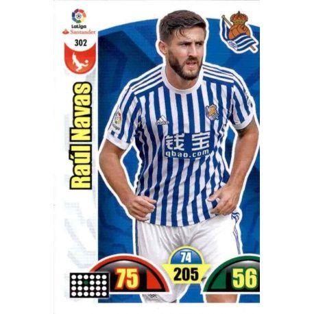 Raúl Navas Real Sociedad 302 Cards Básicas 2017-18