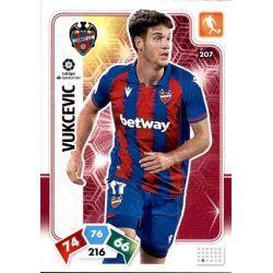 Nikola Vukčević Levante 207 Adrenalyn XL Liga Santader 2019-20