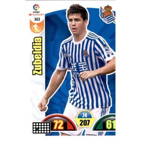 Zubeldia Real Sociedad 303 Cards Básicas 2017-18
