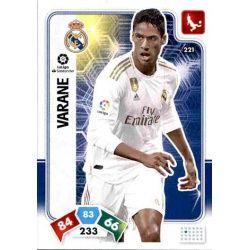 Raphaël Varane Real Madrid 221 Adrenalyn XL Liga Santader 2019-20