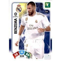 Karim Benzema Real Madrid 231 Adrenalyn XL Liga Santader 2019-20