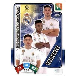 Tridente Real Madrid 234 Adrenalyn XL Liga Santader 2019-20
