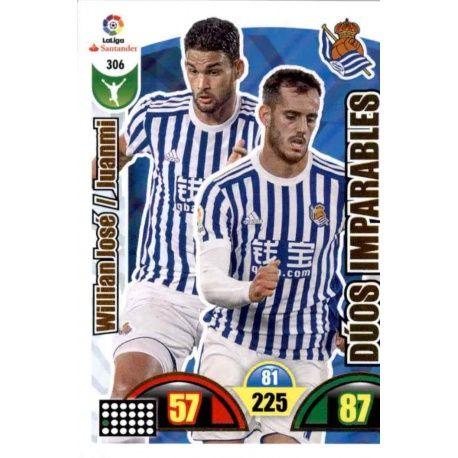 Willian José / Juanmi Real Sociedad 306 Cards Básicas 2017-18