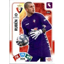 Rubén Martínez Osasuna 253 Adrenalyn XL Liga Santader 2019-20