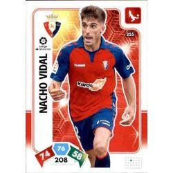 Nacho Vidal Osasuna 255 Adrenalyn XL Liga Santader 2019-20