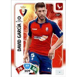 David García Osasuna 257 Adrenalyn XL Liga Santader 2019-20