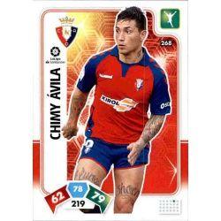 Chimy Ávila Osasuna 268 Adrenalyn XL Liga Santader 2019-20