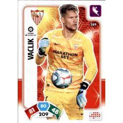 Tomáš Vaclík Sevilla 289 Adrenalyn XL Liga Santader 2019-20