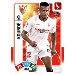 Jules Koundé Sevilla 294 Adrenalyn XL Liga Santader 2019-20