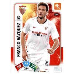 Franco Vázquez Sevilla 299 Adrenalyn XL Liga Santader 2019-20