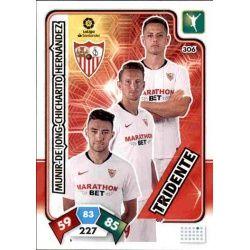 Tridente Sevilla 306 Adrenalyn XL Liga Santader 2019-20