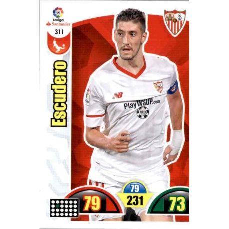 Escudero Sevilla 311 Cards Básicas 2017-18