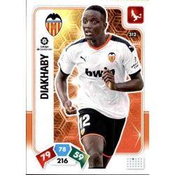 Mouctar Diakhaby Valencia 312 Adrenalyn XL Liga Santader 2019-20