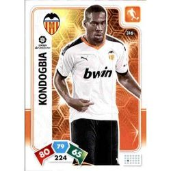 Geoffrey Kondogbia Valencia 316 Adrenalyn XL Liga Santader 2019-20